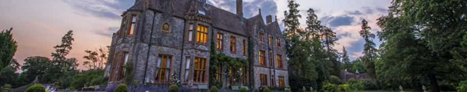summer sunset at huntsham court