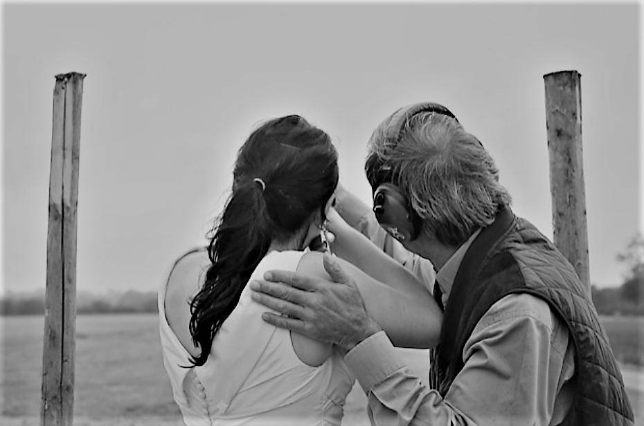 Wedding day clay shooting - Huntsham Court activity
