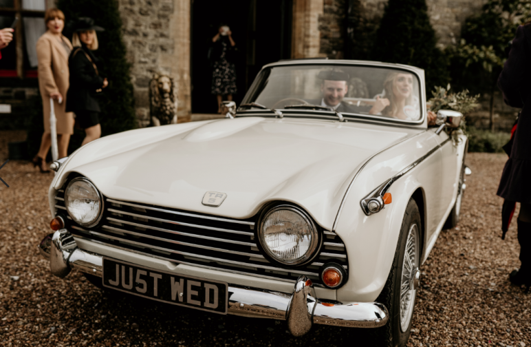 Noah werth photography - just wed at Huntsham Court