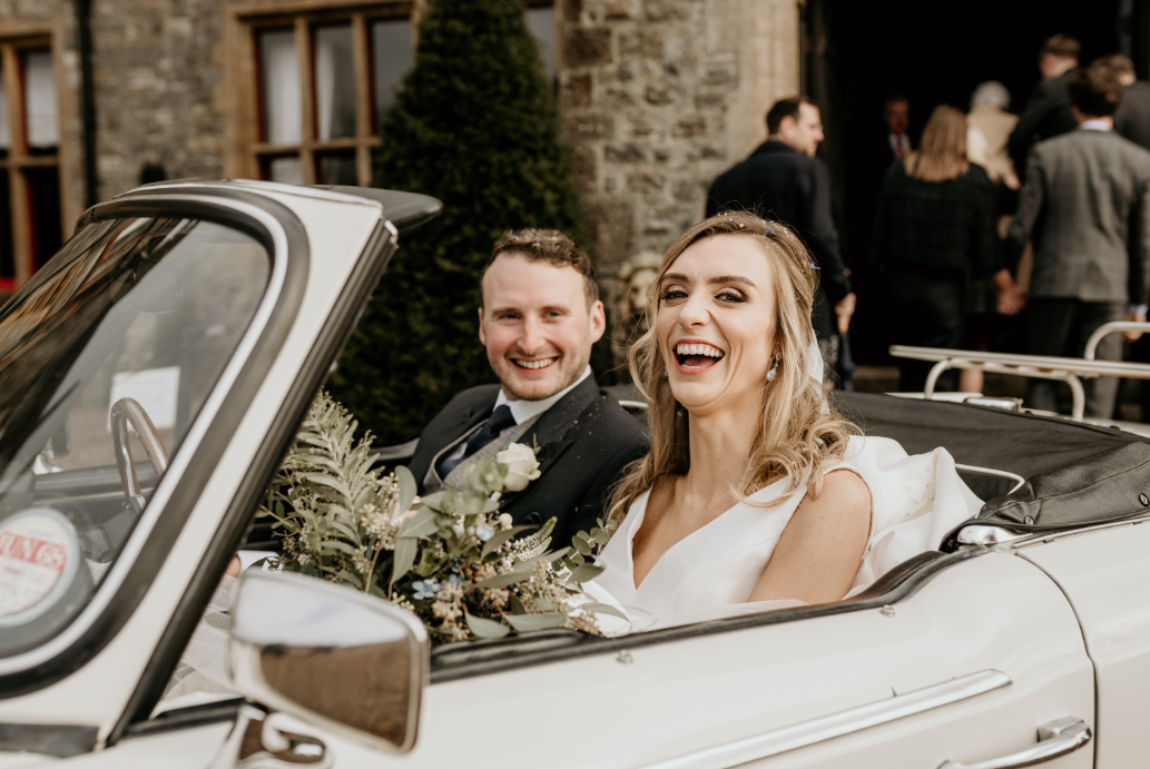 Noah werth photography - just married, huntsham court