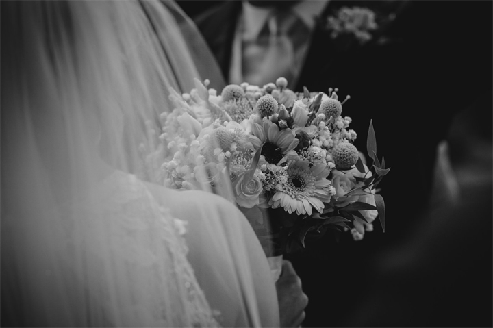 mark Bowen photography at a wind down wedding at Huntshamm Court - bouquet