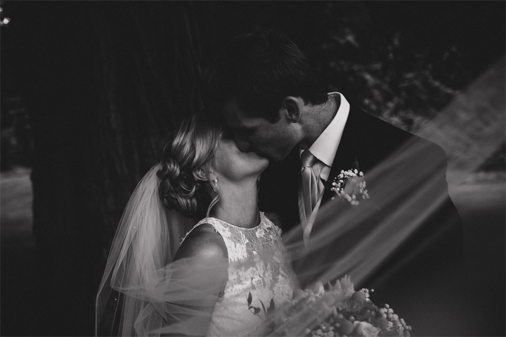 mark Bowen photography at a wind down wedding at Huntshamm Court - bride and groom