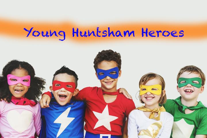 Superhero Kids Aspiration Imagination Playful Fun Concept
