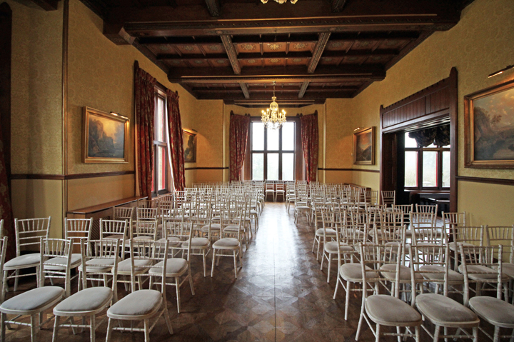 720 - ballroom HC seats 107 - yellow room - ceremony