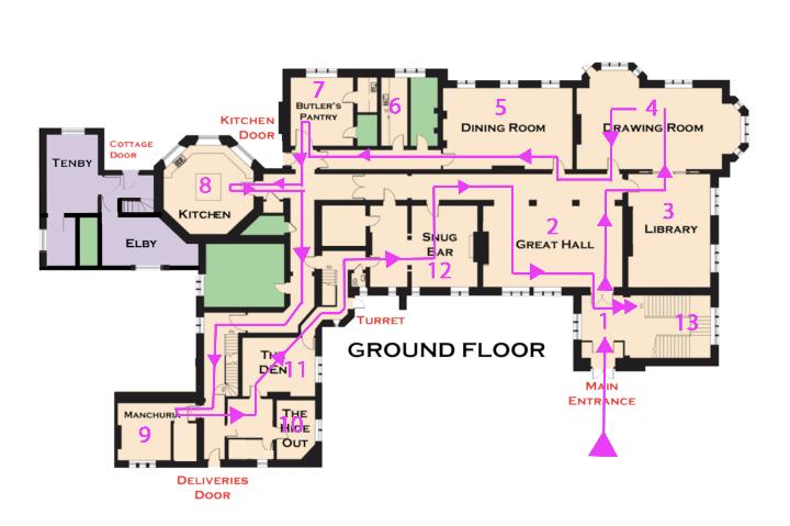 hc - oneway - ground floor