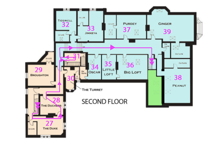 hc - oneway - second floor