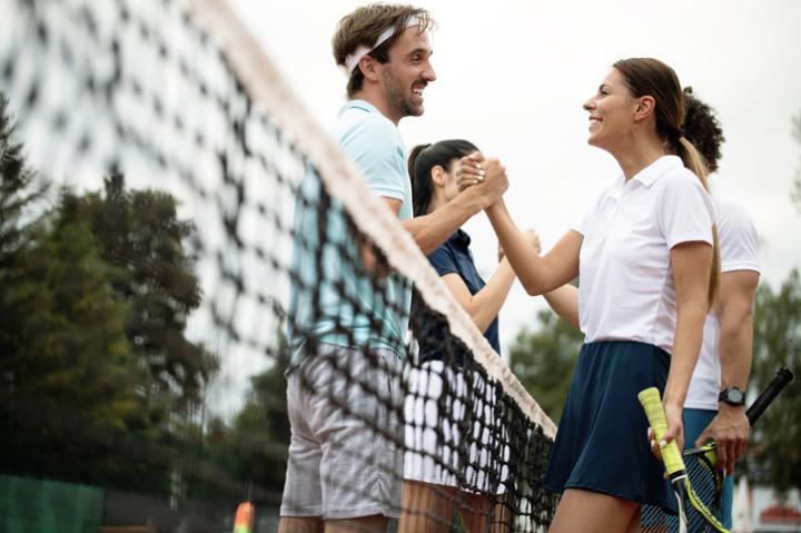 huntsham court - tennis