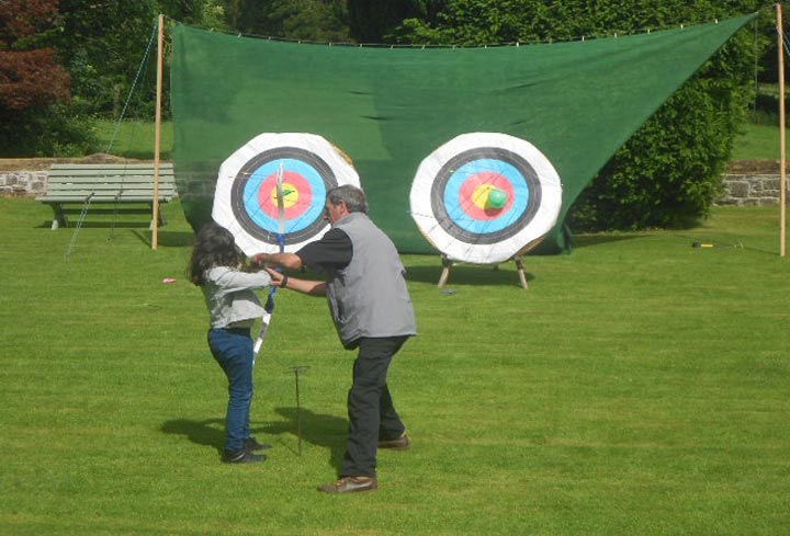 huntsham_court_archery